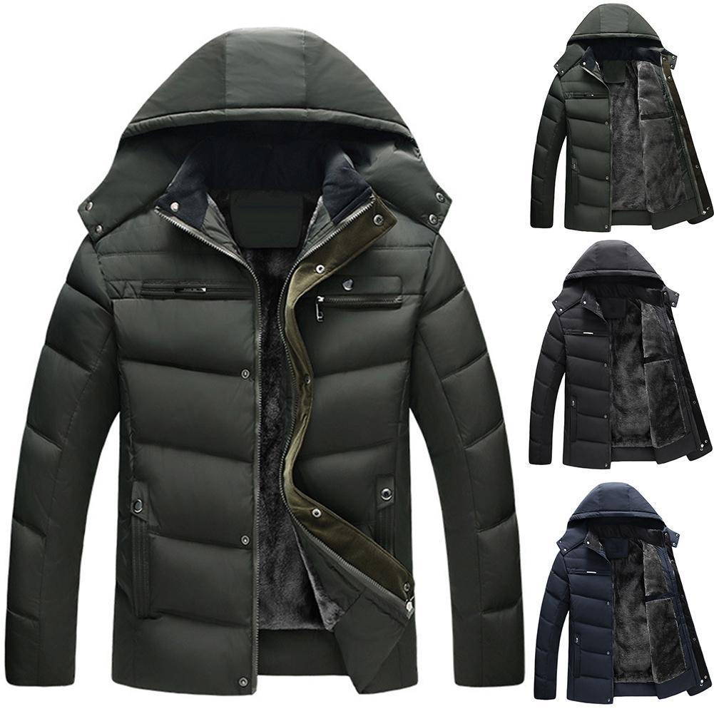 Men Coats Down Jacket Men Fall Winter Portability Warm 90% White Duck Down Hooded Man Coat Jaqueta Masculinos Chaqueta Hombre