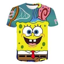 2020 Summer Children Clothing Camiseta Kids Clothes t Shirt Tops   3D Print Cartoons Girls Boys Clothes Classic Anime T Shirt