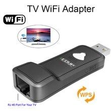300M Wireless Network Adapter USB ethernet Wifi repeater wifi range extender network card for IPTV CCTV DVB TV Set Box wps setup