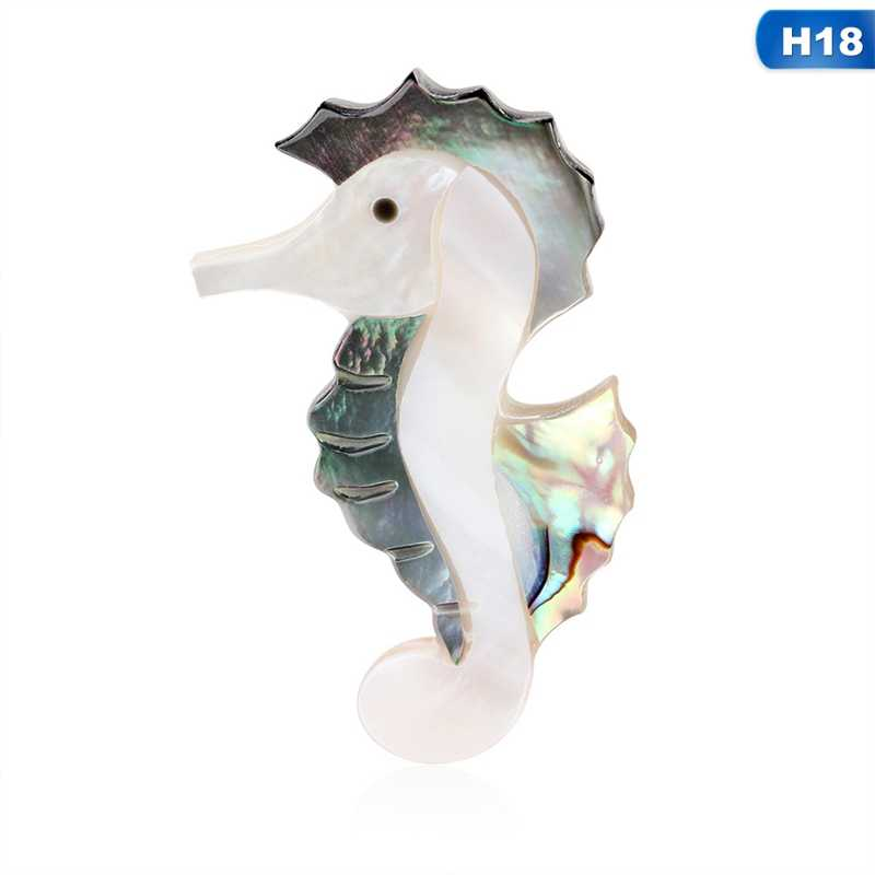 Animal broche coquille
