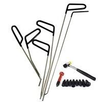 Hastes gancho ferramentas paintless dent repair kit de ferramentas remoção do dente carro granizo martelo|Pés de cabra| |  -
