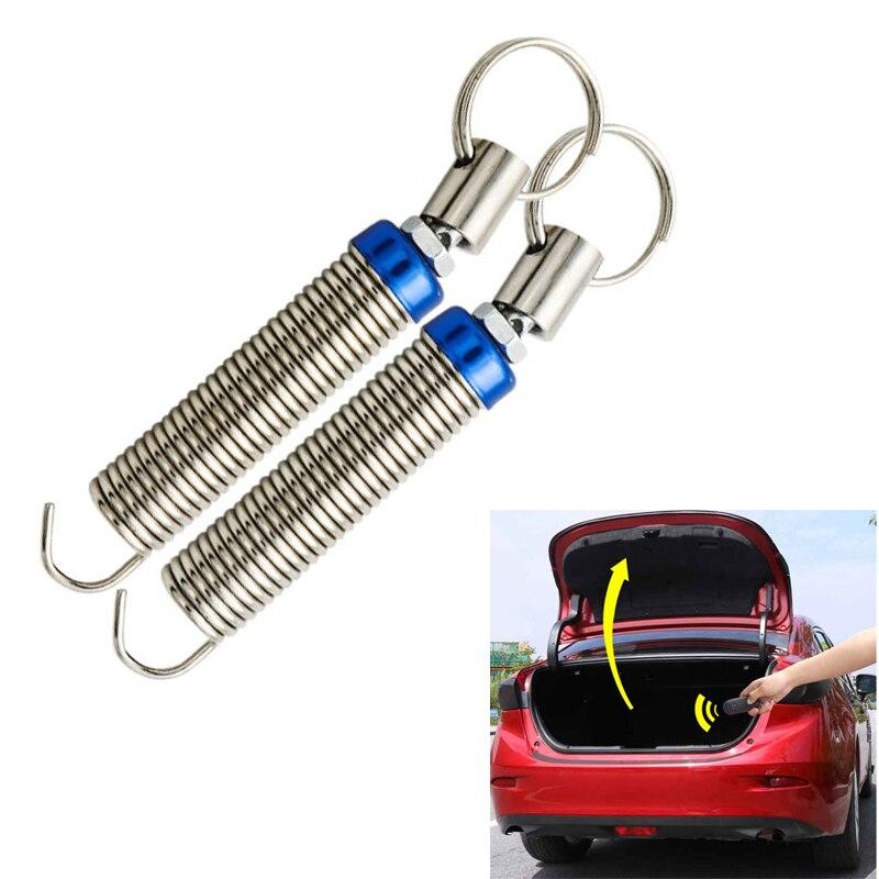 1pc Auto coffre de voiture botte couvercle dispositif de levage métal réglable ressort dispositif outil automatiquement à distance ouvert tronc ressort universel