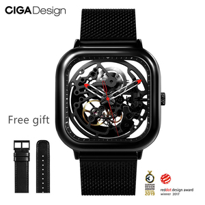 Image 3 - CIGA Watch Hollowed out Mechanical Wristwatches Watch Reddot Winner Stainless Fashion Luxury Automatic Watches