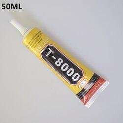1 шт. 50 мл T-8000 клей T8000 многоцелевой клей эпоксидная смола ремонт сотового телефона ЖК-сенсорный экран супер DIY клей T 8000