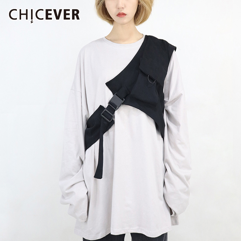 CHICEVER Korean Removable Woman's Belt Tunic Lace Up One Shoulder Female Belts Adjustable Fashion New Clothing Accessories 2020