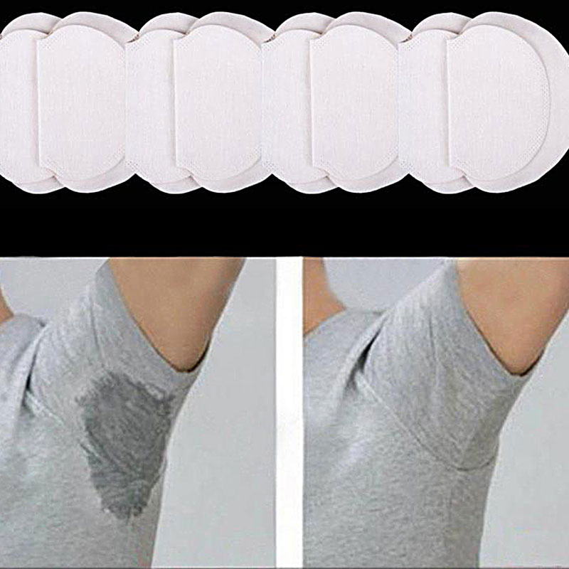 10/20 Pcs Armpits Sweat Pads For Underarm Gasket Dedicated Ultra-thin Sweat-absorbent Patch For Underarm Sweat Pad Absorb Sweat