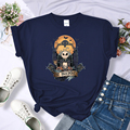 Женская футболка с принтом Кошмар перед Рождеством, новинка 2020, модная уличная одежда с круглым вырезом, простые футболки, брендовая Футбол...