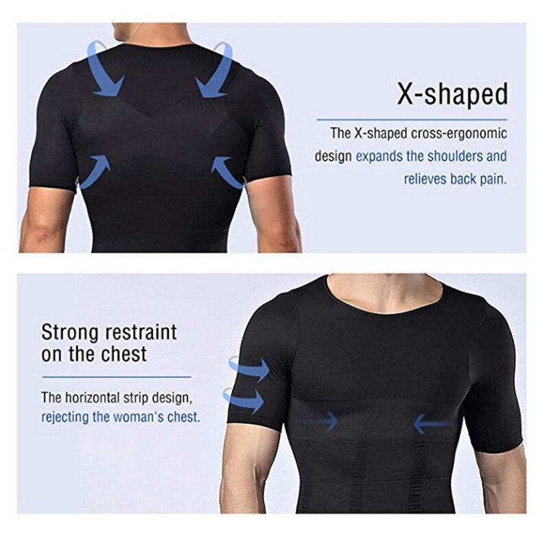SecondSkin Men's Shaper Cooling T-Shirt