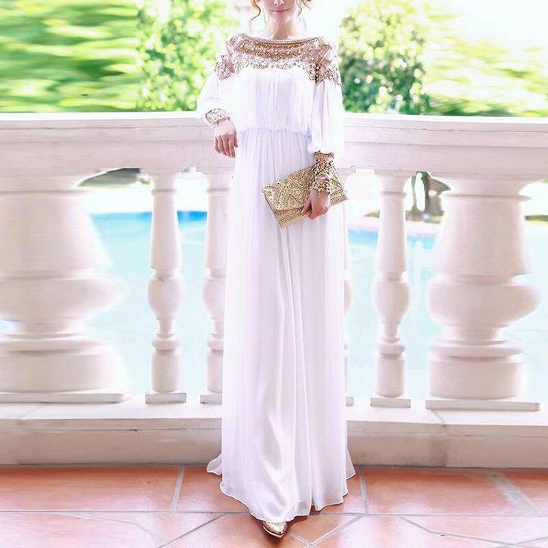Sequin Even Abaya Turkey Arabic Hijab Muslim Dress Women Kaftan Morocco Islamic Clothing Vestidos Dresses Tesettur Elbise