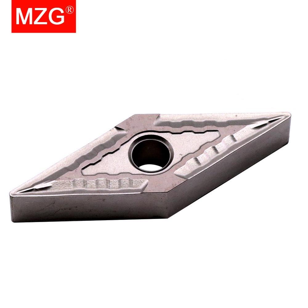 MZG VNMG160404-MT, ZN60 CNC, alésage et rotation, Inserts de cerme en carbure massif, pour mise en évidence en acier support MVJN MVUN