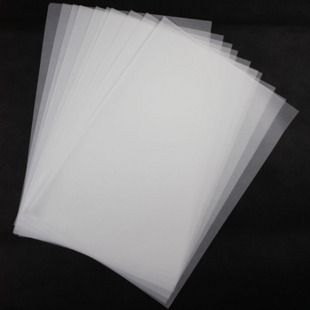Sulfuric Acid Paper A2A3A4 Blank Natural Tracing Paper 55G Plate Transfer Paper Transparent Paper Draft Paper