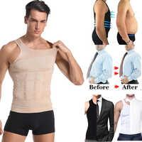 Werden-In-Form männer Abnehmen Weste Körperformer Korrigierende Haltung Bauch Control Compression Hemd Verlust Gewicht Unterwäsche korsett