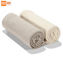 Hot 100% Xiaomi Mijia Pillow 8H Z1 Z2 Antibacterial Natural Material Case Tianzhu Cotton Pillowcase with Polygiene Antibacterial(China)