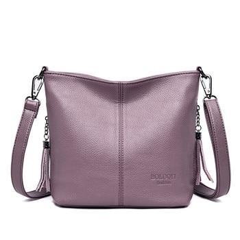 Τσάντα με διπλό λουράκι ώμου/χιαστή
