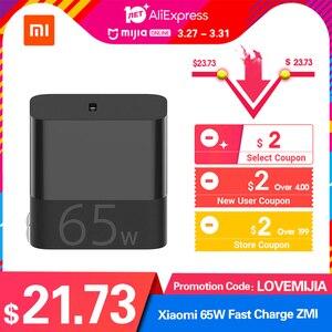 Image 2 - الأصلي ZMI 65 واط PD QC 3.0 سريع تهمة سنل oplain مع 5A USB C om USB C كابل ل أندرويد iOS محمول التبديل شاومي 9