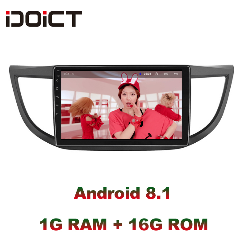 IDOICT Android 9.1 Car DVD Player GPS Navigation <font><b>Multimedia</b></font> For <font><b>Honda</b></font> <font><b>CRV</b></font> Radio <font><b>2012</b></font> 2013 2014 2015 2016 car stereo image