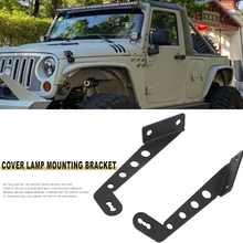 Off Road Hood Caring Personal Cars Accessories LED Light Bar Mounting Brackets Kit