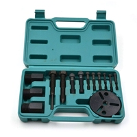 14 Pieces A/C Compressor Clutch Remover A/C Puller Installer Air Conditioning Tools Kit Car Repair Kit