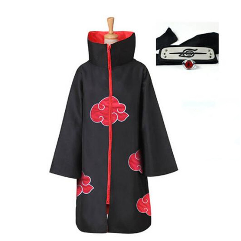 Image 5 - Naruto Cosplay Costume Akatsuki Cloak Hawk/Snake Cosplay Costume-in Anime Costumes from Novelty & Special Use