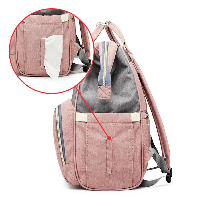 Bolsa de pañales, mochila de mamá, Bolsa de pañales grande de maternidad, Bolsa de maternidad impresa para bebé, mochila de viaje, Bolsa de neopreno para el cuidado del bebé