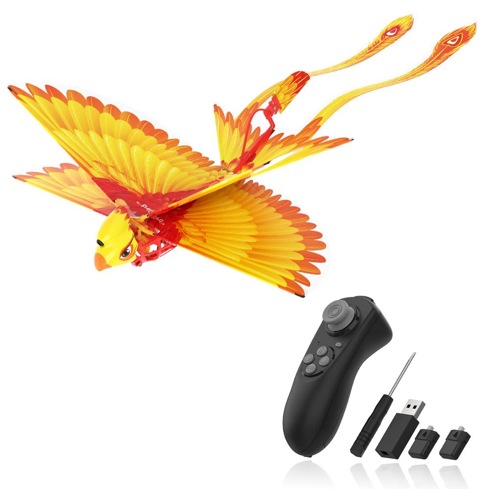 Go Go Bird Remote Control Flying Toy Mini RC Helicopter Drone-Tech Toys Smart Bionic Flapping Wings Flying Birds For Kids Adults