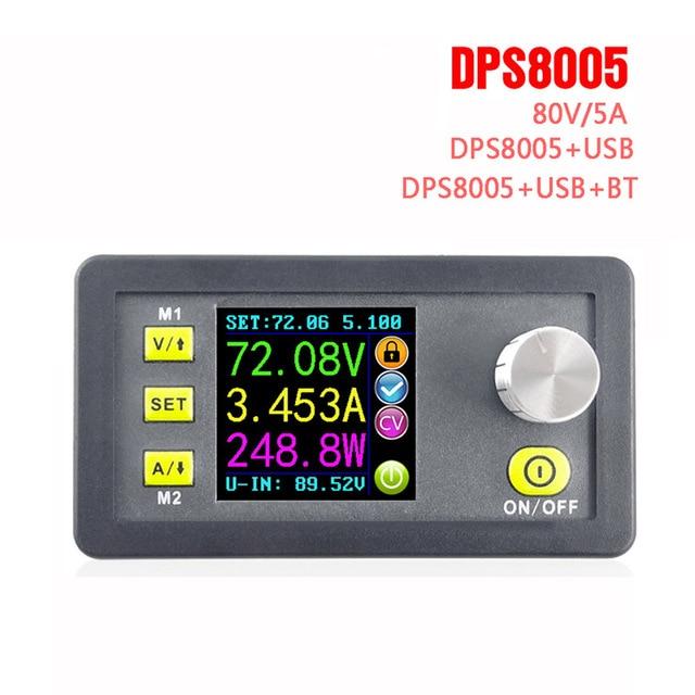 Фото dps8005 жк цифровой программируемый модуль понижающего питания цена