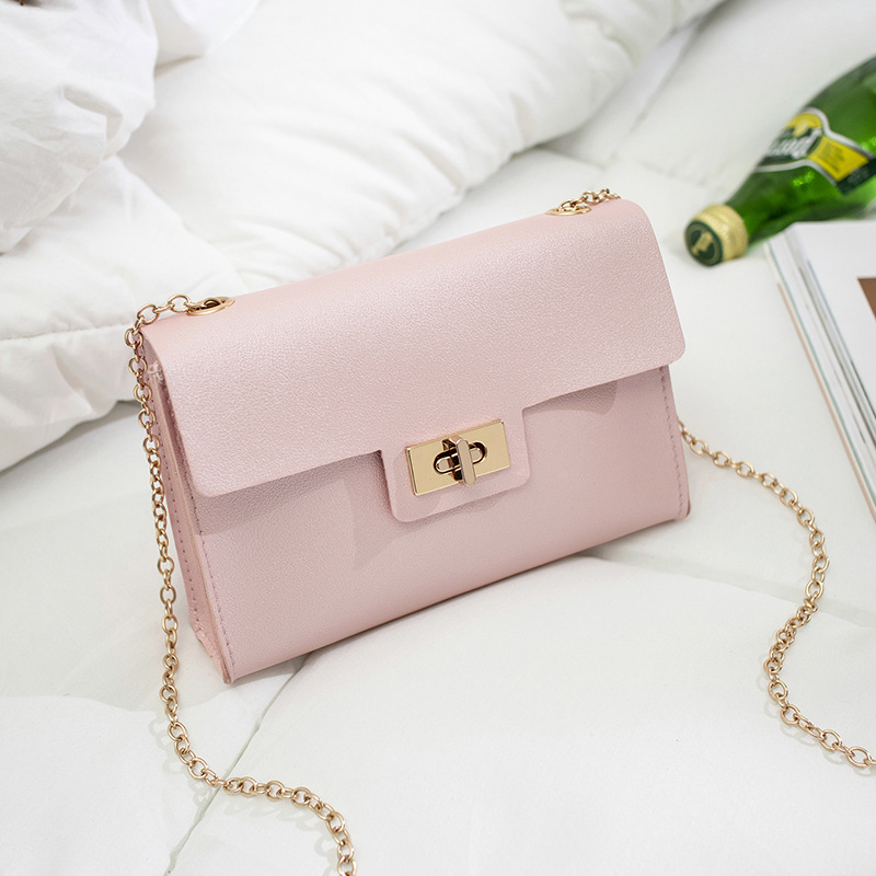 Summer Shoulder Bag Small Bag Ladies 2019 On The New Wave Korean Version Ins Wild Chain Messenger Bag Fashion Simple