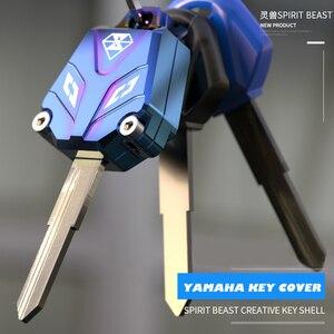 Image 1 - 스피릿 비스트 오토바이 키 커버 케이스 YAMAHA YZF XJR1300 FJR1300 MT09 MT07 XJ6 TMax FZ8 R3 R1 R6 FZ1 FZ4 FZ6 XT660
