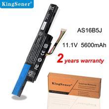 KingSener Batería de ordenador portátil para Acer Aspire E5 575G 53VG 3ICR19/66 2, nuevo AS16B5J AS16B8J, 2 años de garantía