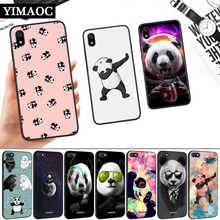 Panda Dab on the EM Silicone Soft Case for Redmi 4A 4X 5 Plus 5A 6 Pro 6A 7 7A S2 Go K20 Note Prime 8