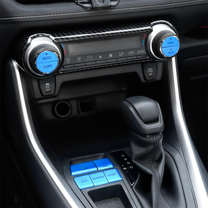 DNHFC кнопка переключения передач стеклянная Кнопка подъема кнопка кондиционера Декоративная Металлическая Наклейка для Toyota RAV4 RAV 4 XA50 2019 2020