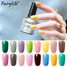 FairyGlo 10ML 3 ใน 1 Nail Gel Long Last UV (China)
