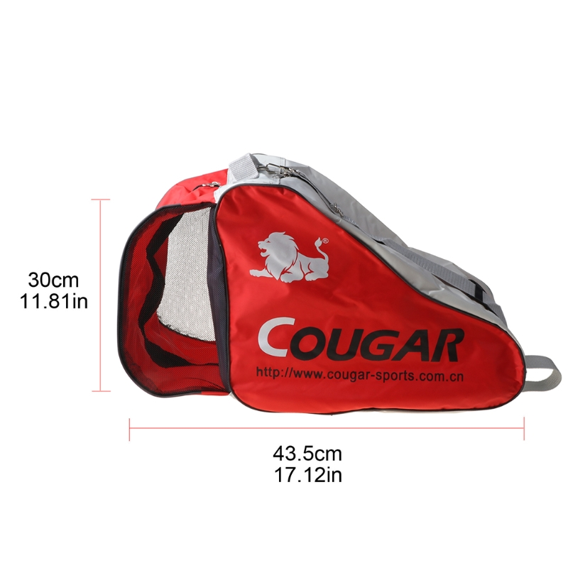 Portable Large Capacity Roller Skates Storage Bag Outdoor Sports Handbag Skate W0YB
