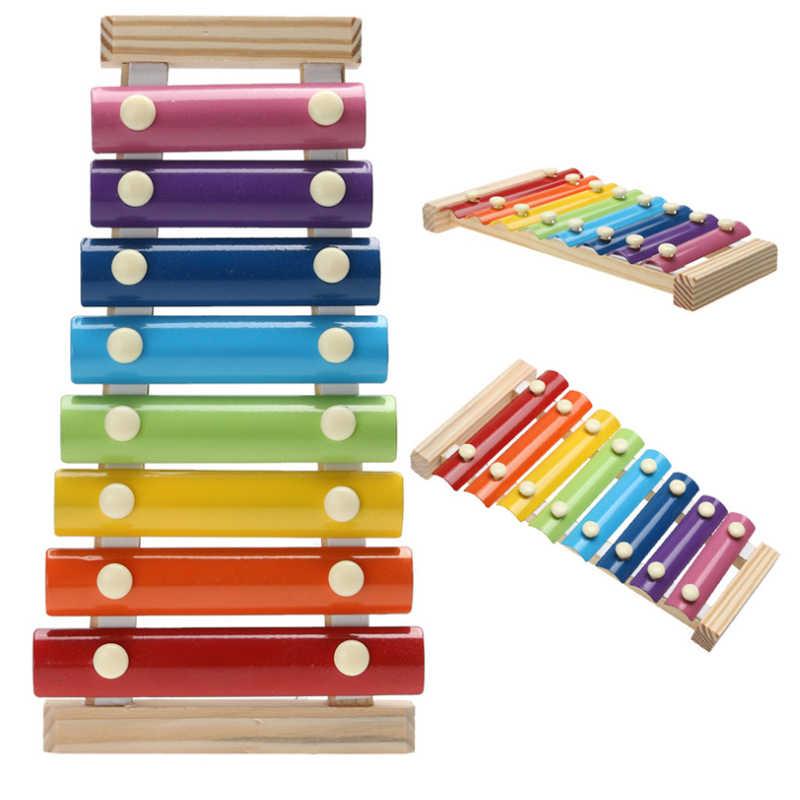 2020 חדש Imitat מוסיקה מכשיר צעצוע עץ מסגרת קסילופון ילדי ילדי צעצועי תינוק צעצועים חינוכיים מתנות עם 2 פטישי עץ
