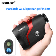 BOBLOV Golf Telescope Rangefinder 600m Distance Meter 6X Monocular hunting Range Finder Speed Tester