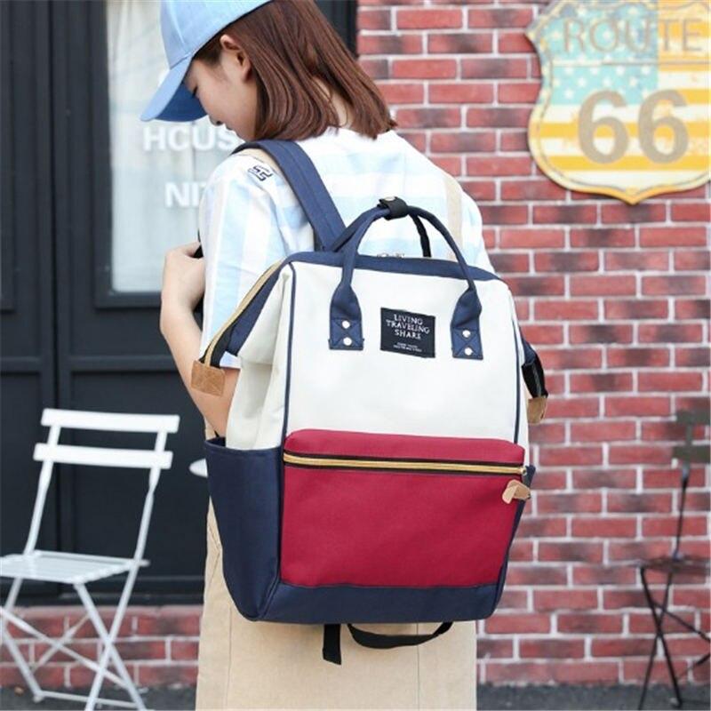 Quaslover Bag Large Capacity Baby Nappy Bag Designer Nursing Bag Fashion Travel Backpack Baby Care Bag for Mother Kid Free Deliv