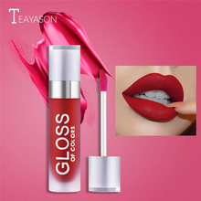 New Sexy Long Lasting Matte Lip Gloss Waterproof Moisturizer Makeup Liquid Lipstick Red Nude Pink Color Glaze