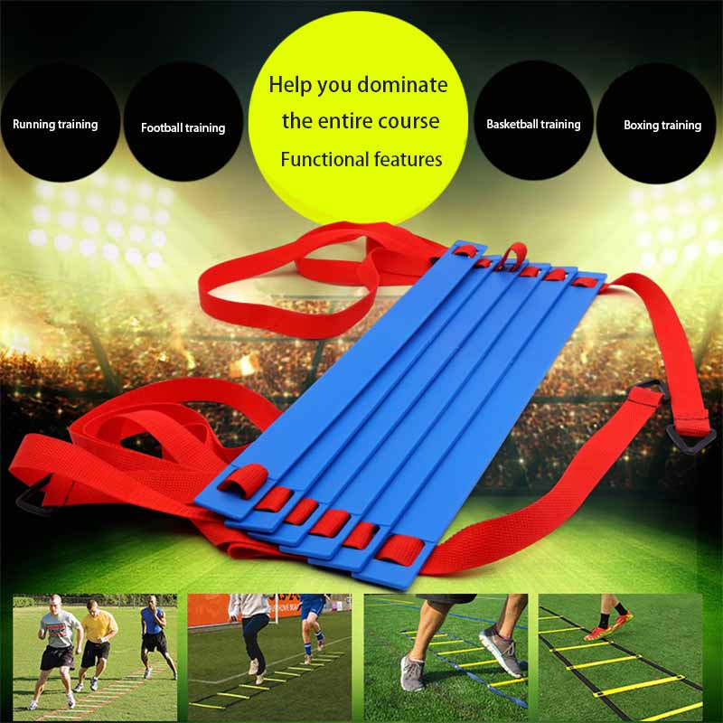 Soccer Speed Ladder Practical Durable Eco-Friendly Wear-Resistant Agility Training Ladders Football Speed Ladder Training Stairs