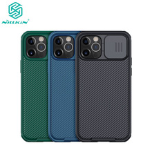 For iPhone 12 Pro Max Cases NILLKIN Camshield Pro Camera Protection Case shields For apple iphone 12 mini luxury Slide Cover