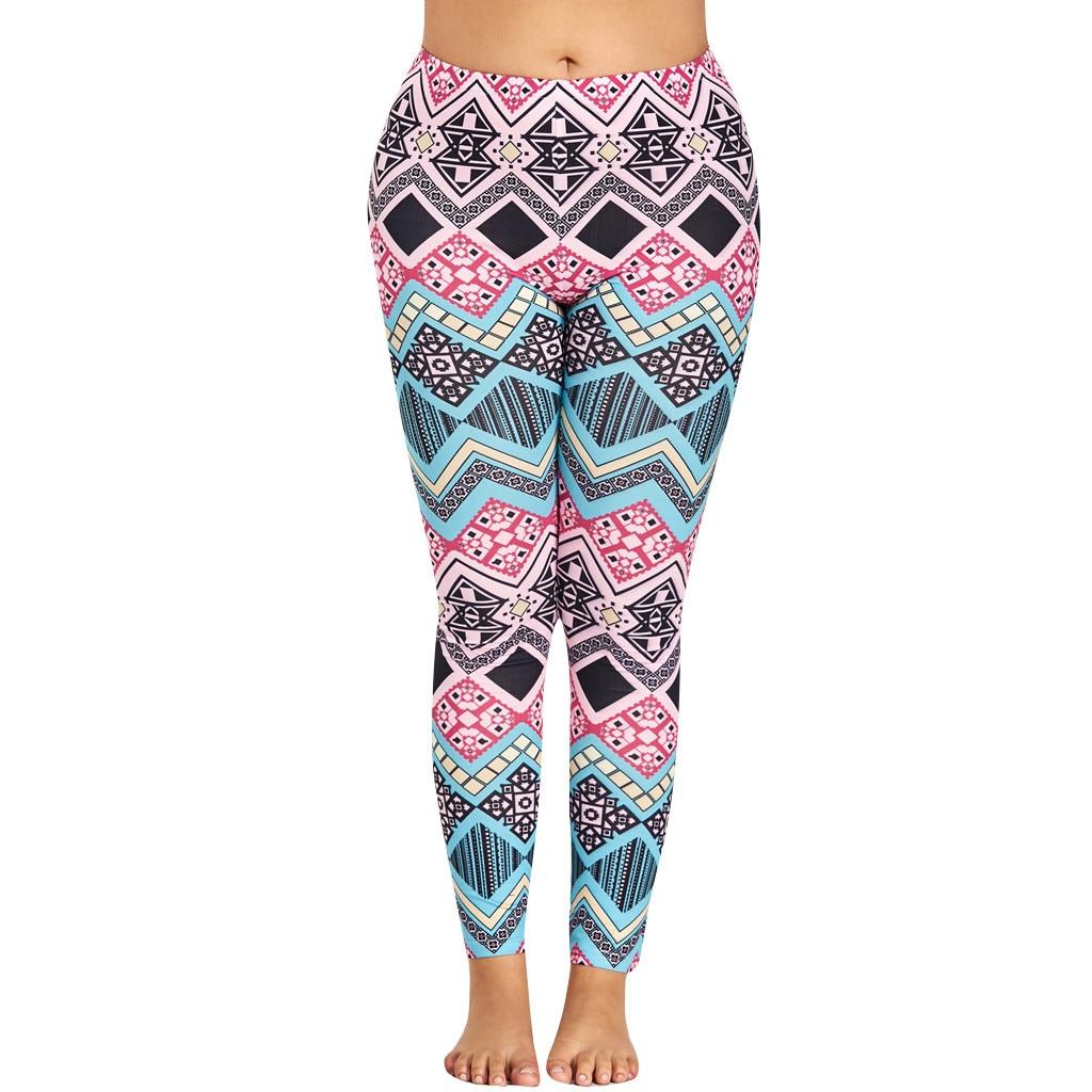 Leggins Mujer Leggings Fitness Feminina Legging Legins Plus Size Women Workout Leggings Calzas Plus Size Casual 2019 2XL-5XL Z4