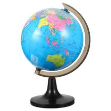 1pc Educational World Globe With Stand Adults Desktop Geographic Globes Research On High Definition Standard Geography Teaching