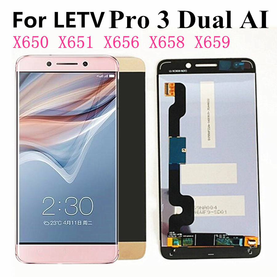 For Letv <font><b>Le</b></font> Pro 3 X650 LCD For LeTV LeEco Le3 <font><b>Le</b></font> 3 <font><b>le</b></font> Pro 3 <font><b>X651</b></font> X656 X658 X659 X653 LCD Screen Display+Touch Digitizer Assembly image