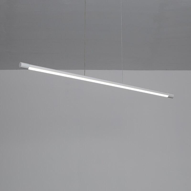 Moderno led pingente luzes para sala de jantar sala estar suspensão luminária cabo pendurado lâmpada pingente de alumínio para cozinha escritório - 6