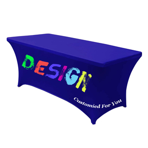 Image 4 - Custom Table cloth Rectangular Table Cloth Fitted Spandex Wedding Party Table Covers Event Stretchable Table cloth,free shipping