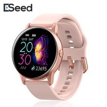ESEED DT88 smart watch women ip68 waterproof 1.22 inch screen Heart rate blood p
