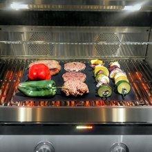 40X33CM BBQ Grill Mat Non Stick Teflon BBQ Grill Liners Baking Accessories Grill Barbecue Pad Reusable Mat BBQ Accessories гриль барбекю steba vg 250 bbq grill