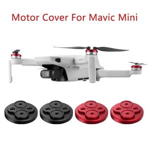 Image 1 - Verbeterde Motor Covers Krasbestendig Propellers Blok Up Beschermende Aluminium Motor Cover Voor Mavic Mini