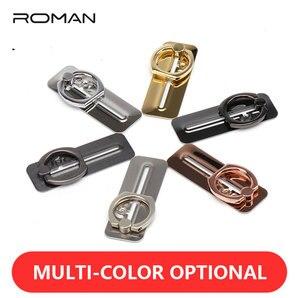 Image 2 - Anel de dedo romano suporte do telefone inteligente suporte do telefone móvel suporte para telefones para o iphone x 7 8 xiaomi huawei livre deslizante