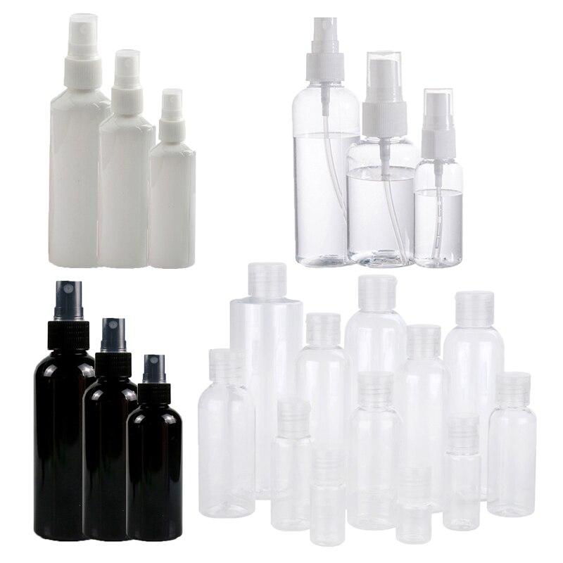 1 Pc Mini Plastic Sprayer White Balck 30/50/100 Ml Small Empty Spray Bottle For Flower Watering Refillable Bottle Garden Sprayer-0
