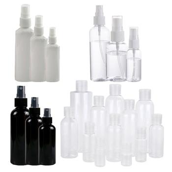 1 Pc Mini Plastic Sprayer White Balck 30/50/100 Ml Small Empty Spray Bottle For Flower Watering Refillable Bottle Garden Sprayer